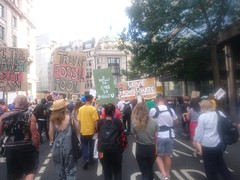 Anti-Trump Protest 18 (thedescrier) Tags: donaldtrump trump antitrump protest protests demonstration demonstrations london uk us politics placard placards sign signs slogan slogans cartoon cartoons poster posters ukpolitics uspolitics racism antiracism immigration equality