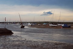 After the storm - Brancaster Staithes (JauntyJane) Tags: brancasterstaithes eastanglia norfolk sea coast boats