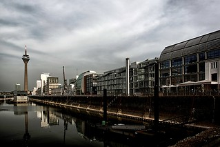 Medienhafen Dusseldorf  / Low-key