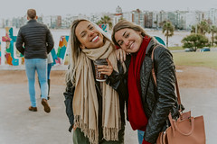 Montevideo (maysalz1) Tags: southamerica uruguay montevideo brazilians girls friends friendship travel trip freedom youth young women happy happiness winter sunny fun urban city free explore street
