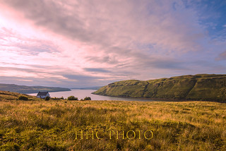 Golden Moment in Skye, Scotland
