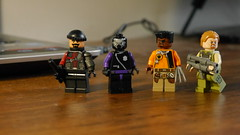 Task Force X members (Julekcoolka) Tags: lego black spider kgbeast bronze tiger suicide squad task force x