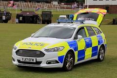West Yorkshire Police Ford Mondeo Estate Dog Section Car (PFB-999) Tags: west yorkshire police wyp ford mondeo estate dog section car vehicle unit van wagon k9 lightbar grilles fendoffs leds yj17efm armed forces day pontefract