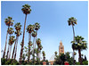 Koutoubia (Gurugo) Tags: marrakech marraquexe morocco marrocos maroc koutoubia mosque mesquita minarete palm palmeira trees árvores sky céu