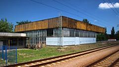 Mościce (4) (Krzysztof D.) Tags: shiftn polska poland polen architektura architecture building dworzec bahnhof station stacja