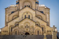 Holy Trinity Cathedral (Sameba) of Tbilisi, Georgia (Raji PV) Tags: georgia tbilisi holytrinitycathedral sameba