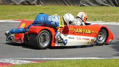 #2 STEVE ABBOTT SEYMAZ KAUSER 500cc (MANX NORTON) Tags: sidecars f1 f2 honda yamaha suzuki kawasaki lcr cadwell