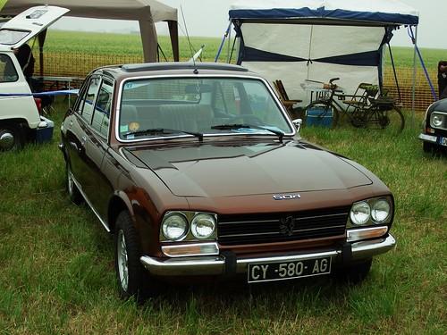 Peugeot 504 Ti Berline Melun Villaroche 09 06 18a A Photo On