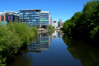 By the river at Leeds