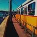A tram in Budapest