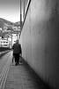 A new day (parenthesedemparenthese@yahoo.com) Tags: dem bw bag femme japan japon monochrome nb noiretblanc shopping silhouette street streetphotgraphy woman blackandwhite blancoynegro kiushu mur nagazaki parapluie parenthesedemparenthese ruelle streetphotographie umbrella wall