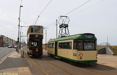 Blackpool Ex-Towing Railcoach 680 & Bolton 66 (Jaybi-94) Tags: towing railcoach blackpool bolton 680 66 heritage transports manchester square