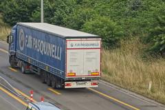 Iveco Stralis AS II E5 450 - F.lli Pasquinelli Srl Acquasparta, Italia (Celik Pictures) Tags: farawayfromhome trucksfarawayfromhome vrachtwagensverwegvanhuis truckspotting spottingtrucks trucks lorry vrachtwagens lkw lastbilar lastwagen camion tir kamyon spotted in seen paalberingen overthebridge spottedoverthebridge e313 e313snelweg a13 26 beringen europe belgië benelux limburg vlaanderen schmitz cargobull iveco industrial vehicle corporation flli pasquinelli srl acquasparta italia italië italiën italy