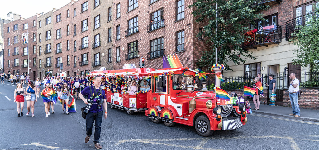 ABOUT SIXTY THOUSAND TOOK PART IN THE DUBLIN LGBTI+ PARADE TODAY[ SATURDAY 30 JUNE 2018] X-100277
