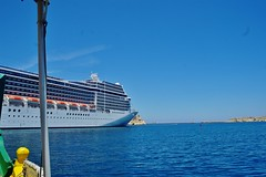 2016-06-08g rejs - Vittoriosa (22) (aknad0) Tags: malta vittoriosa morze architektura krajobraz statki