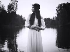 Angelic Angel  Angel By The River (ClvvssyPhotography) Tags: bohobohemianbeautifulbeautybrunettedressfashionfemaleflo abilene tx unitedstates