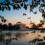 Dusk at the Jefferson Memorial  -- THROWBACK THURSDAY 6.27.18 thumbnail