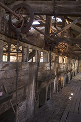 Shearing Stands (oz_lightning) Tags: australia canon6d canonef1635mmf4lis dunlopstation nsw westerndivision agriculture building decay disused interior outback rural woolshed louth newsouthwales aus