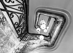marble up (Blende1.8) Tags: antwerpen antwerp vlaanderen flandern belgium belgien stair stairs stairway staircase treppe treppenhaus spiral spiralstair indoo indoor interior architecture architektur banister treppengeländer marmor marble perspective carstenheyer sony alpha ilce7m3 sel1224g 1224mm a7m3 a7iii old alt beautiful