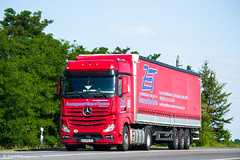MB Actros 1845 MP4 BigSpace / ZET (UA) (almostkenny) Tags: lkw truck camion ciężarówka ua ukraine mb mercedesbenz actros mpiv mp4 bigspace 1845 ao ao6696bi zet закарпатєвротранс