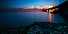 ... The end is in sight ... (Grandpops Woodlice) Tags: sunset pier clevedon clevedonpier bristol