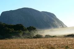Mount Namuli at dawn