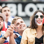 Fans de foot - Coupe du Monde 2018 - Durant le match France Uruguay thumbnail