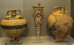 "Mycenaean Greece - VII: Rhyton (Egisto Sani) Tags: atene man museoarcheologiconazionale vasi ""the house oil merchant"" ""mycenaean antiquities"" pictorial style"" rhyton pottery"" ""ceramica micenea"" ""greek art"" ""arte greca"" ceramic"" vases"" ceramica ""vasi greci"" mycenae micene athens ""national arehaeological museum"" ""museo areheologico nazionale"" 7386 7626 7627 latehelladicstyle"