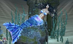 Under The Sea (Bryan Trend) Tags: catwa catya maitreya moon amore hair gacha set lybra bra tail uber event quasi poses bento decor female woman new post blog blogger sl second life