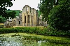 Valle Crucis Abbey Ruins (Eddie Crutchley) Tags: europe uk wales denbighshire vallecrucisabbey abbey ruins church historicbuilding trees fishpond simplysuperb wonderful greatphotographers