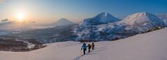 (brendan_reeves) Tags: niseko japan skitouring skiing touring hokkaido winter snow yotei annupuri sunrise snowborading splitboarding