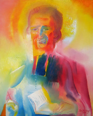Saint Marcellin Champagnat. 2018 by Stephen B. Whatley (Stephen B. Whatley) Tags: art expressionism icon contemporaryart modernart artworld catholicart stmarcellinchampagnat marcellinchampagnat saintmarcellinchampagnat maristbrothers marist france canada teacher education teaching schools littlebrothersofmary god faith prayer hope love compassion tenderness light miracles saint christian french world jesus mary virgin paintings toweroflondon toweroflondonpaintings toweroflondonartist towerhillunderpass towerhillstation thegoodmother theblessedvirginmary ourlady stephenbwhatley artiststephenbwhatley whatley stephenwhatley artiststephenwhatley bible book crucifix cross prayers peace eyes expressionistart abigfave blueribbonwinner