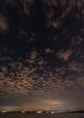Dawlish Warren at Midnight (frontios) Tags: devon astro astrophotography stars skies night nighttime beach sea seaside seascape starscape exmouth pentax k3ii sigma 1020mm dawlish warren clouds