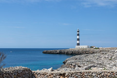 Cap d'Artrutx (Mac ind Óg) Tags: islasbaleares summer seascape spain españa minorca balearicislands lighthouse calanbosch walking menorca landscape faro holiday capdartrutx illesbalears