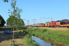 DB Cargo 6469+6461+6416 @ Zwolle (Sicco Dierdorp) Tags: db dbc cargo serie6400 6461 geelgrijs unitcargo ketelwagen keteltrein onnen kijfhoek zwolle meppel herfte