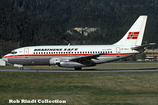 Braathens S.A.F.E. B737-205/Advanced LN-SUJ