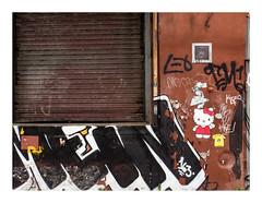 160515_1413_160515 111538_oly_S1_New York (A Is To B As B Is To C) Tags: aistobasbistoc usa newyorkstate newyork roadtrip travel olympus stylus1s color brooklyn bushwick troutmanst street streetart stencil nijntje monkey tag graffiti tags wall city urban depot decay