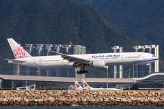 CHINA AIRLINES B777-300ER B-18051 002 (A.S. Kevin N.V.M.M. Chung) Tags: aviation aircraft aeroplane airport airlines plane spotting boeing b777300er b777 worldliner landing hkg