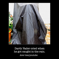 darth - rain (AverTiesPhotos) Tags: averties art artphoto artist beach bestoftheday blue city climatechange colorful exotic faces famous fineart flower garden green imperfection inspiration light marchforourlives motivation mothernature nature trump new night people photoart photographer photooftheday picoftheday portrait pretty protest red sensual street trend tree unusual walk water white