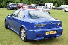 2003 Alfa Romeo 156 GTA 3.2 V6 (>Tiarnán 21<) Tags: alfa romeo blue cf03hny