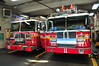 FDNY Engine 28 and Ladder 11 (Triborough) Tags: ny nyc newyork newyorkcity newyorkcounty manhattan greenwichvillage eastvillage fdny newyorkcityfiredepartment firetruck fireengine ladder ladder11 ferrara ffa engine engine28 seagrave