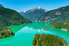 Diablo Lake, North Cascades National Park (Shyloe Neizman) Tags: diablo washington pass hiking roadtrip lake blue northcascades mountain aqua
