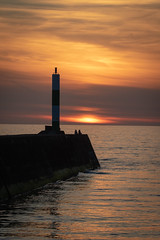 Aberystwyth Sunset (DP the snapper) Tags: flickposs aberystwyth silhouette sunset sea pier her beauti anotherbeautifulsunsetiamge dave