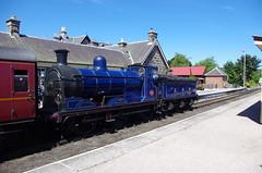IMGP1021 (Steve Guess) Tags: boatofgarten station strathspey steam heritage preserved railway aviemore highlands scotland gb uk caledonian cr 060 loco locomotive