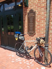 Leg 1 of 5 day Cincy Mini Tour (WeBikeGR-MIke) Tags: bicycle touring apidurabag holdsworthcompetition northstbags ohio xenia brooks