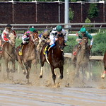Churchill Downs Race: Coming down the home stretch thumbnail