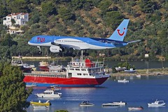 JSI/LGSK: TUI (ThomsonAirways) Boeing B757-28A G-OOBA (Roland C.) Tags: jsi lgsk airport skiathos greece airliner aircraft airplane aviation tui thomsom thomsonairlines boeing b757 b752 b757200 gooba