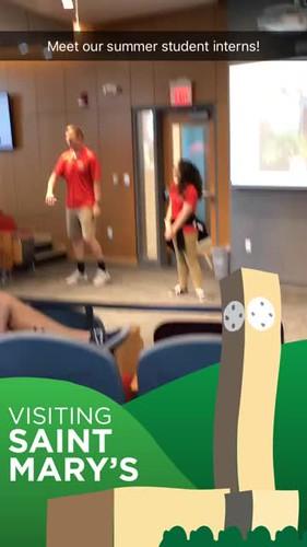 Video - summer student interns