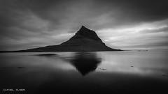 Kirkjufell reflections (Dani Maier) Tags: iceland mountain ocean reflections bw landscape natur outdoor kirkjufell