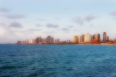 View of Tel-Aviv from Old Jaffa (Photogioco) Tags: seasidewalkingpath telaviv oldjaffa mediterraneansea